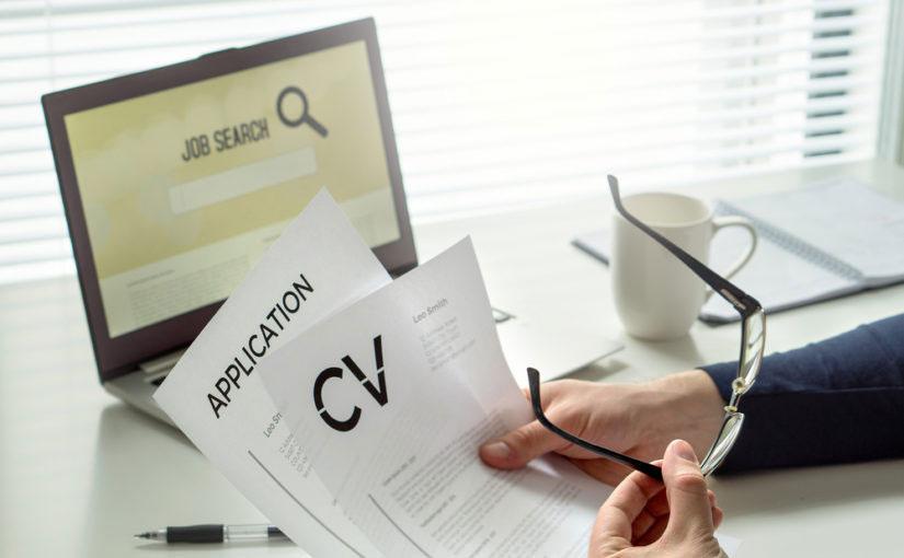 Envío de currículums en línea